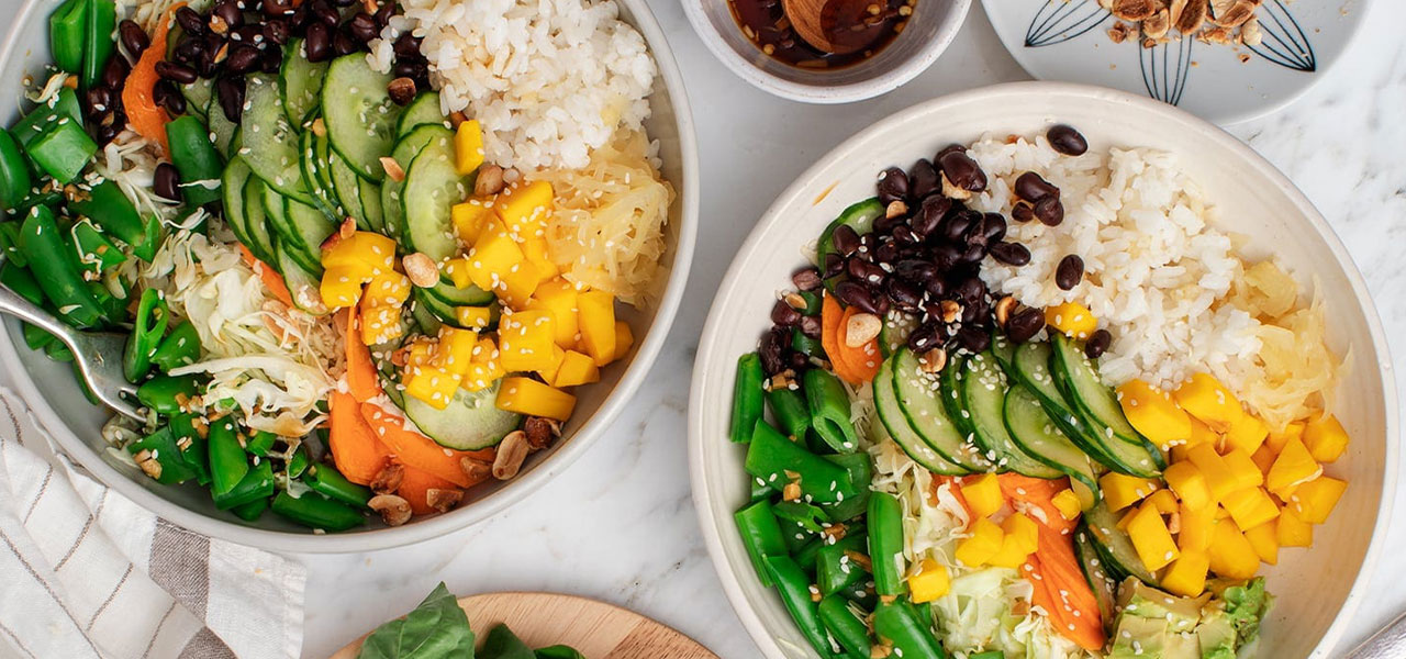Mango Ginger Rice Bowl from Love and Lemons.