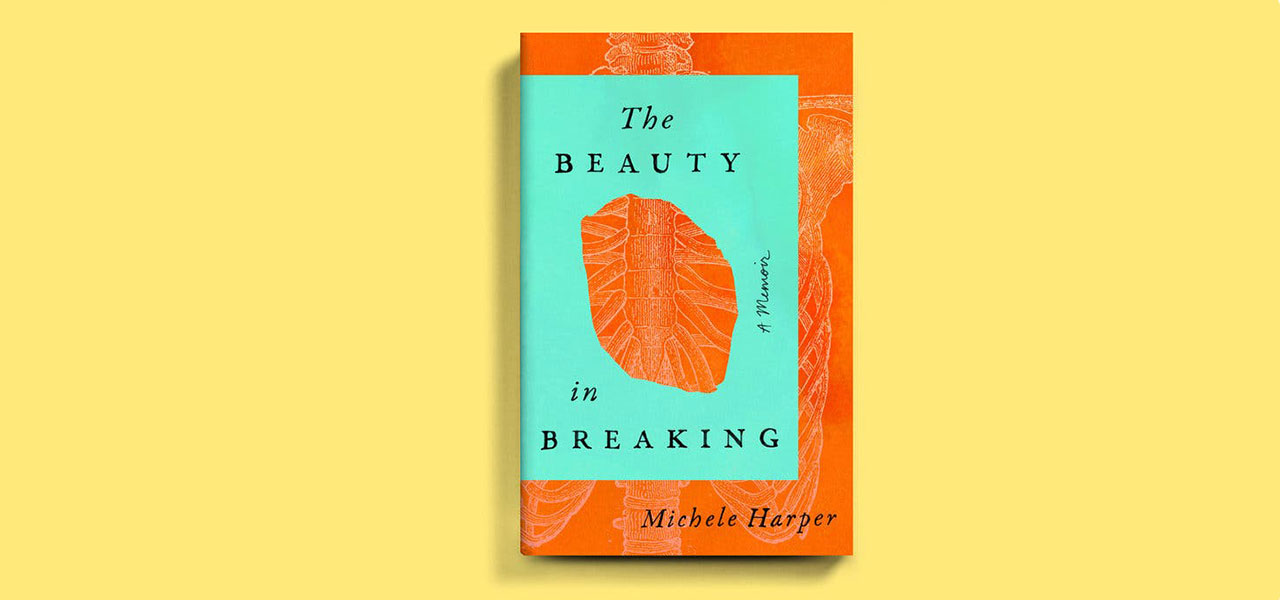 The Beauty in Breaking cover by Michele Harper