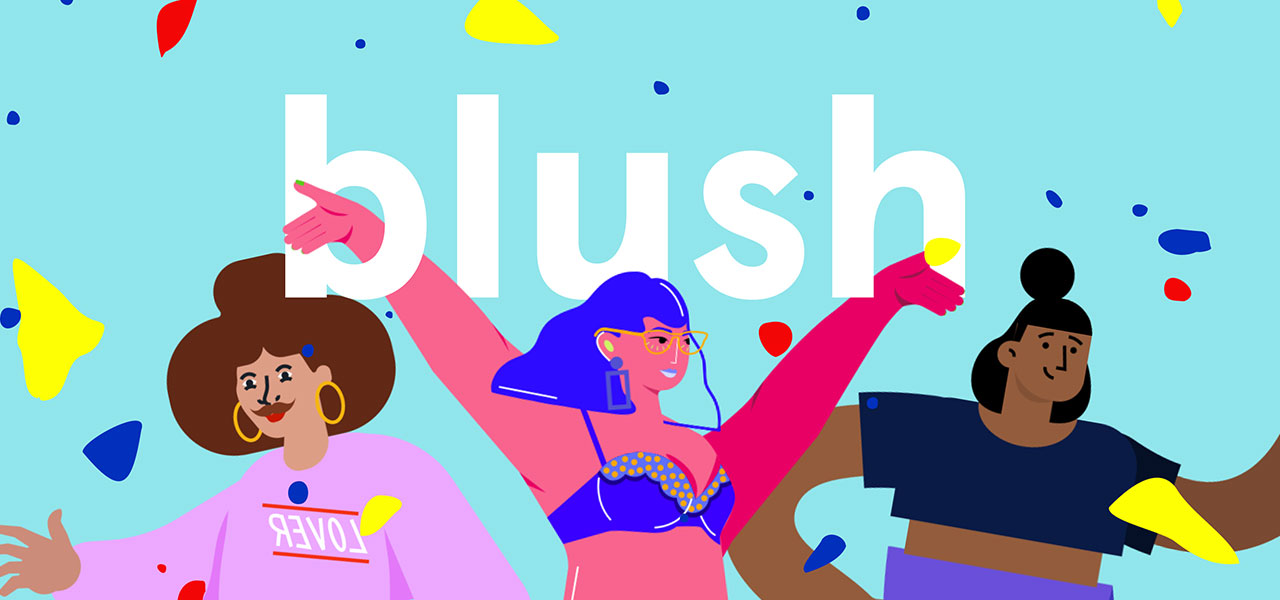Illustrations for everyone are available on Blush.