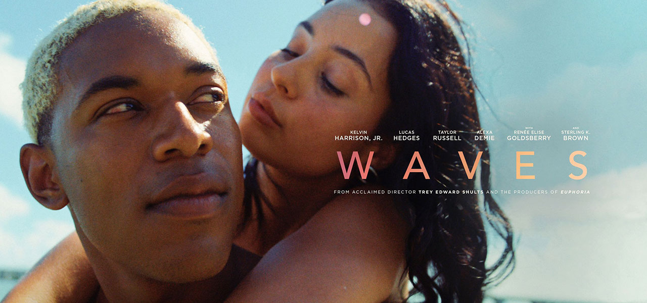 Cover promotion for Waves (2020).