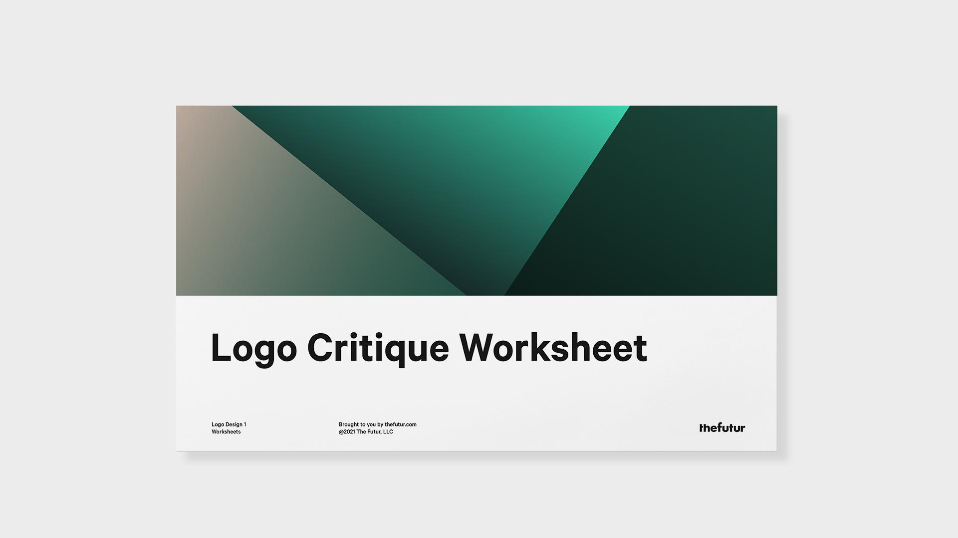 Logo Critique Worksheet