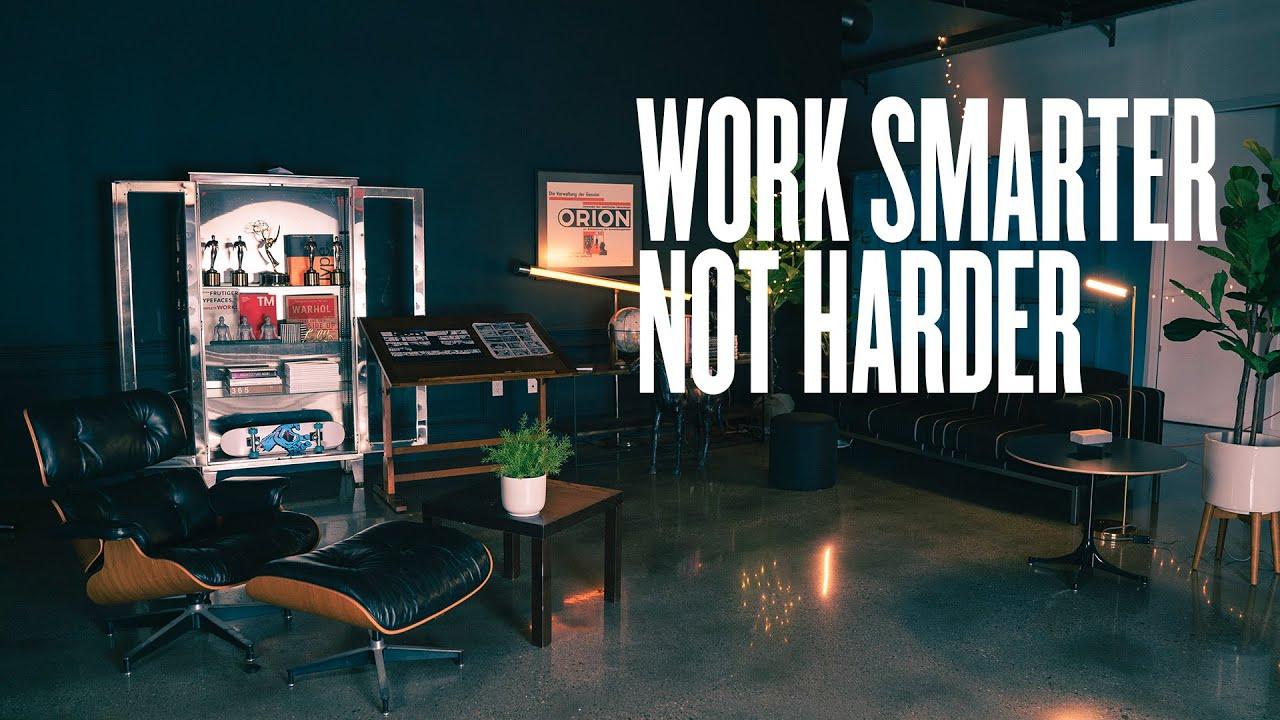 方向比速度更重要 - 工作更聪明更难