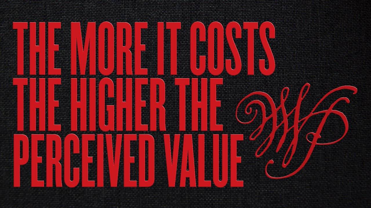 The More It Costs The Higher The Perceived Value: WWPM Clubhouse Recording 11/12