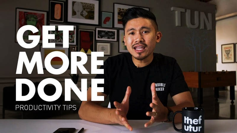 Productivity Tips to GET MORE DONE