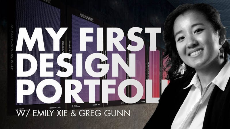 Emily's First Graphic Design Portfolio Review - Part 1