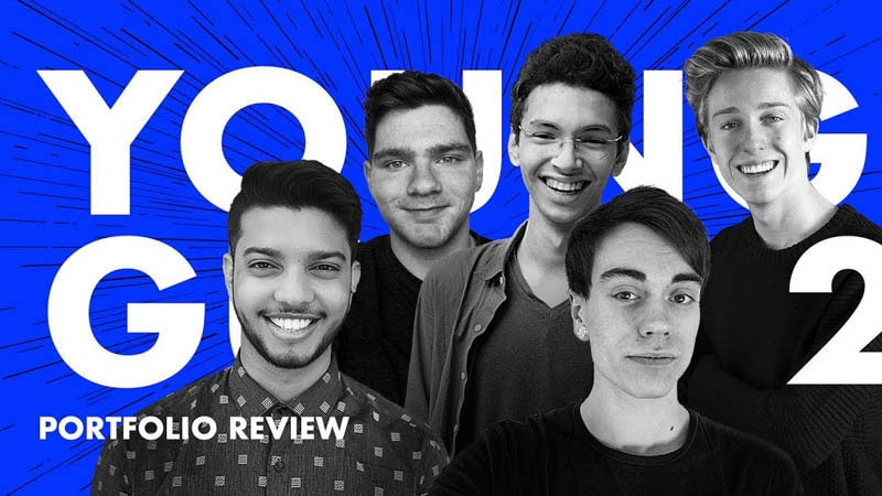 Designer Portfolio Reviews — Young Guns Ep.2