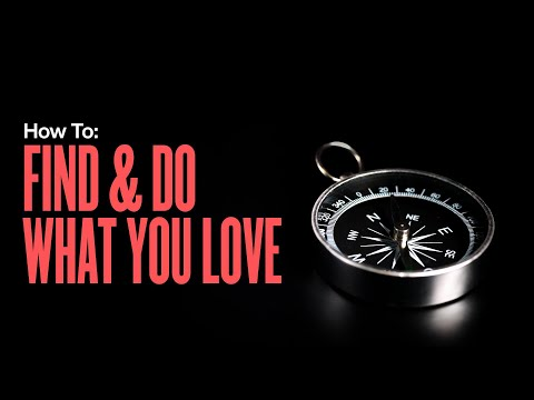 How To Find And Do Work That You Love (Ikigai)