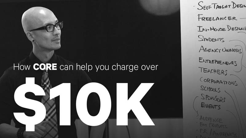How CORE can help you charge over $10k for discovery