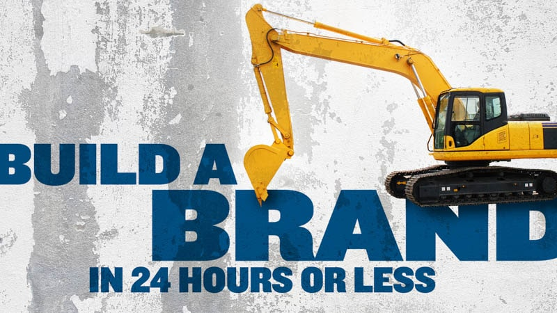 How to Build a Brand in 24 Hours or Less