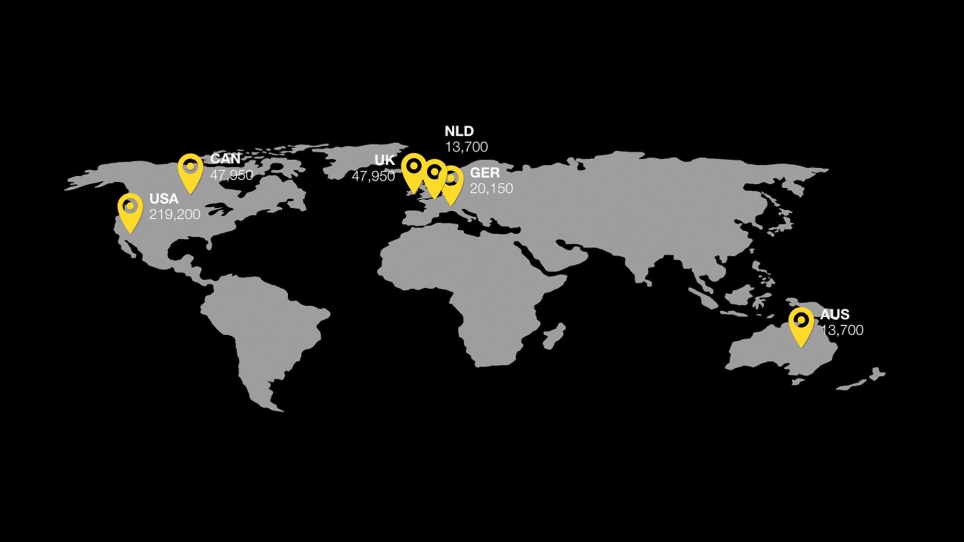 thefutur - sponsor worldmap