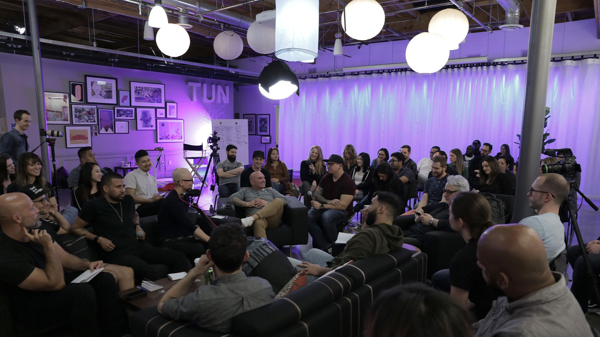 The futur pro group gathering