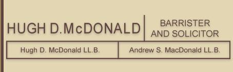 Hugh D. McDonald