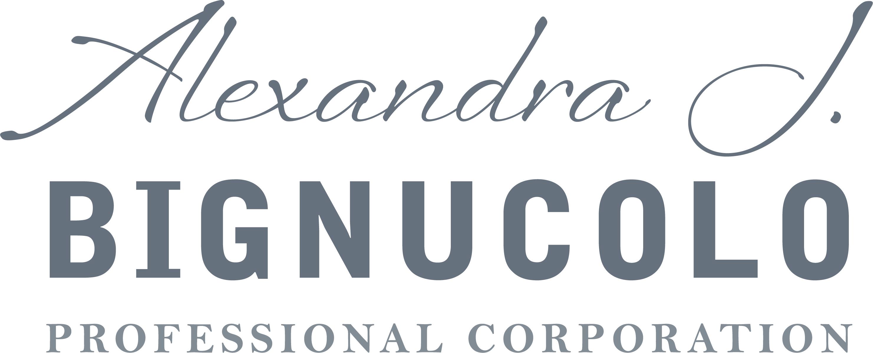 Alexandra J. Bignucolo Professional Corporation