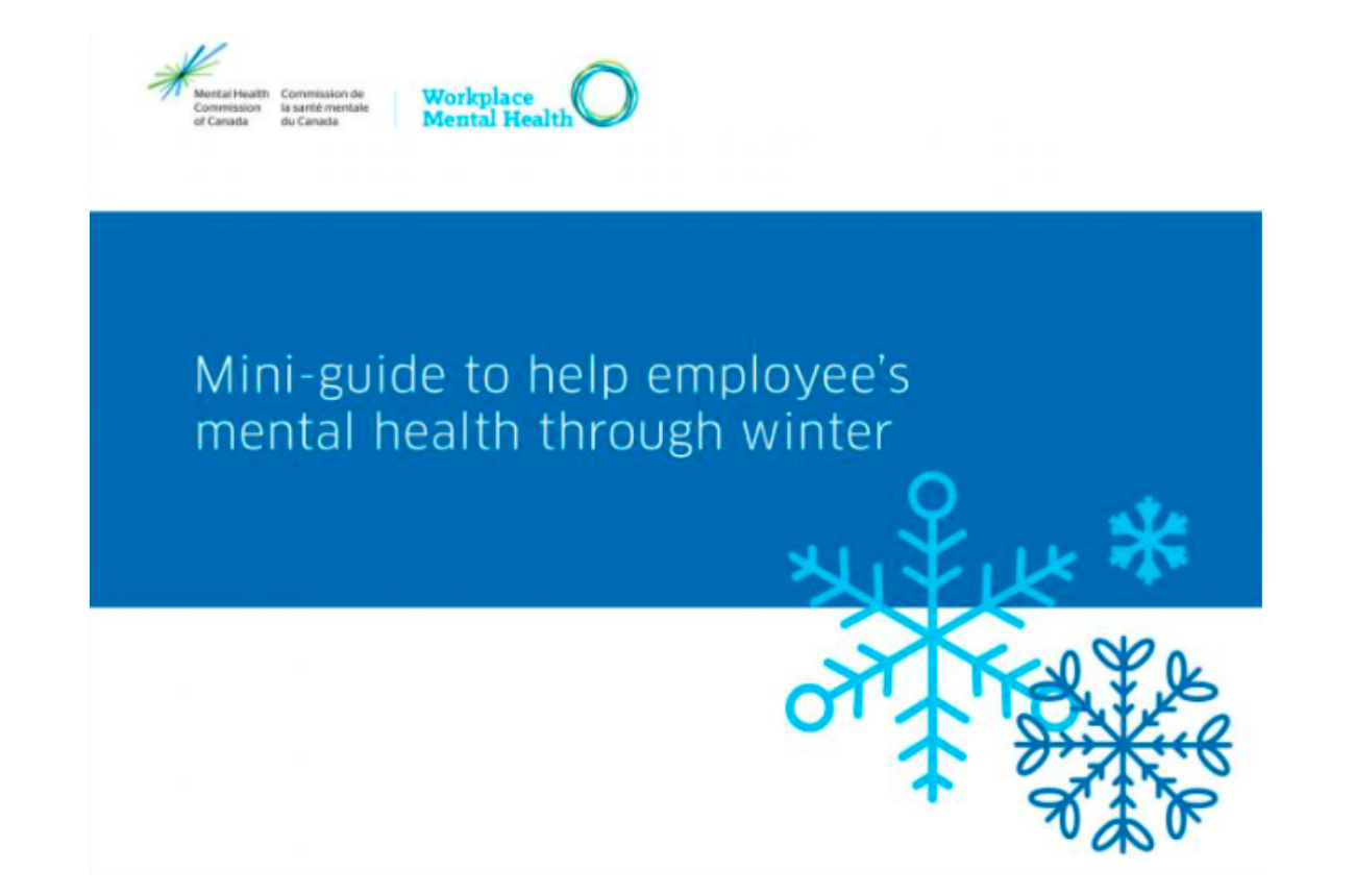 A Mini-guide to Help Employee's Mental Health through Winter