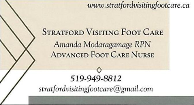 Stratford Visiting Foot Care