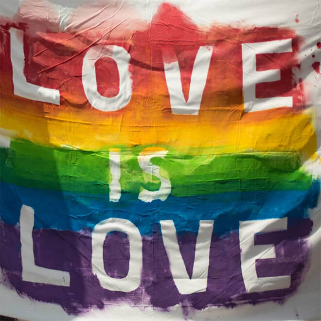 Love is Love art