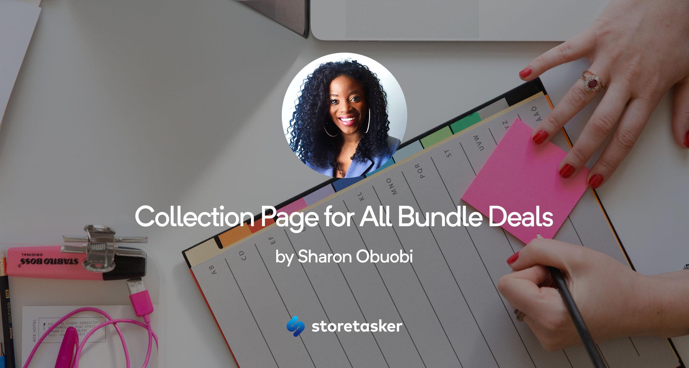 Bold Bundles   Create a Collection Page for All Bundle Deals