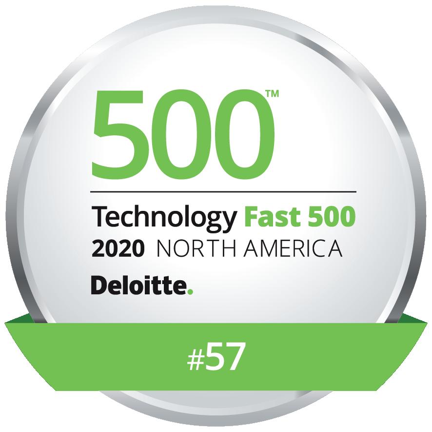 Deloitte 500 Technology Fast 500 Award - Remesh Awarded Number 57