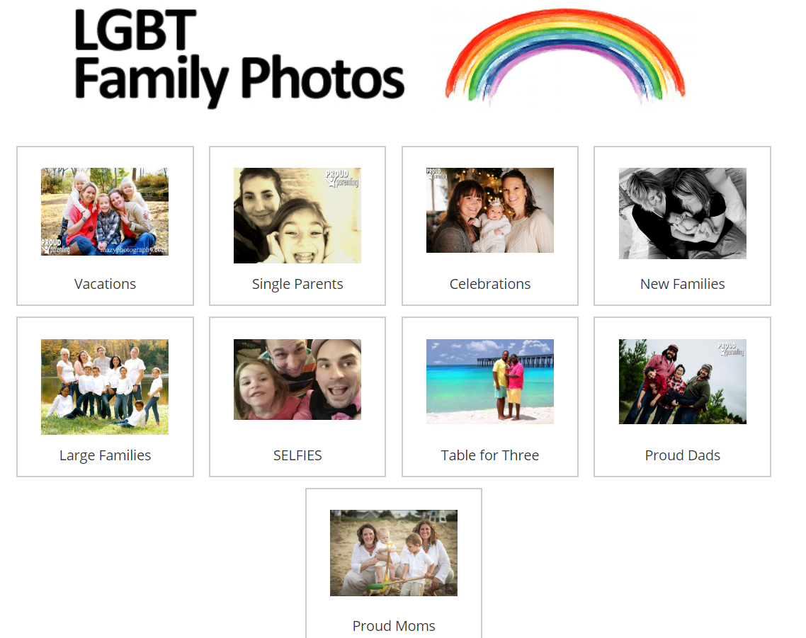 LGBT family photos