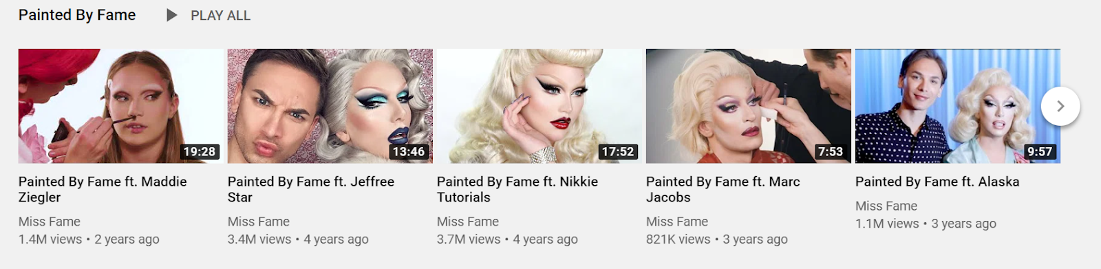Painted by Fame YouTube chanel