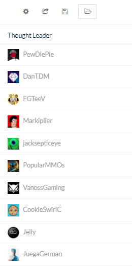 top 10 creators in the gaming category