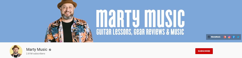 Marty Schwartz YouTube channel