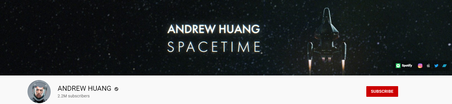 Andrew Huang YouTube channel