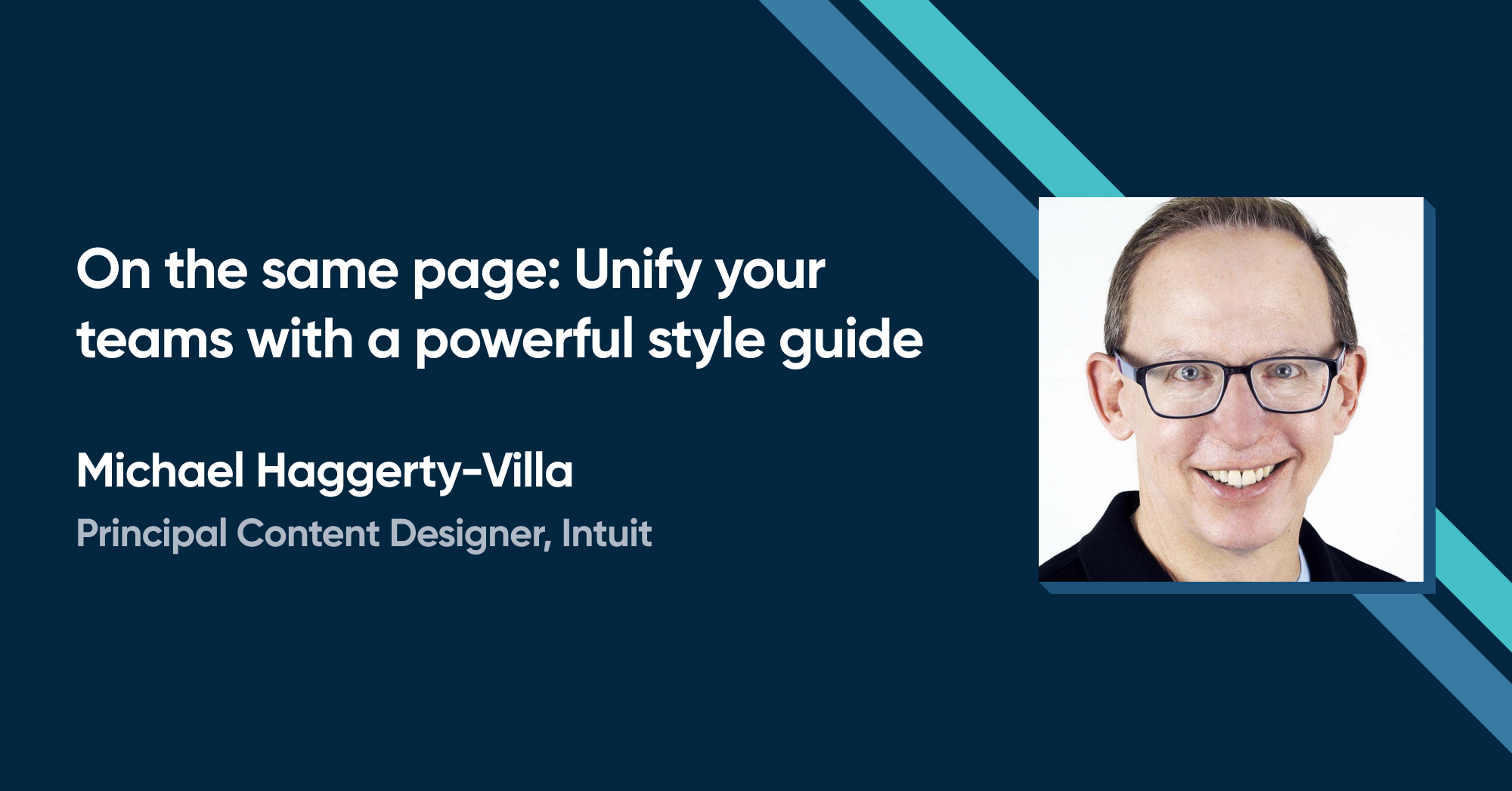 Michael Haggerty Villa - On the same page: Unify your teams with a powerful style guide