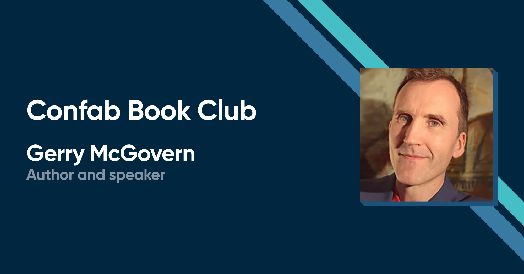 Confab Book Club with Gerry McGovern