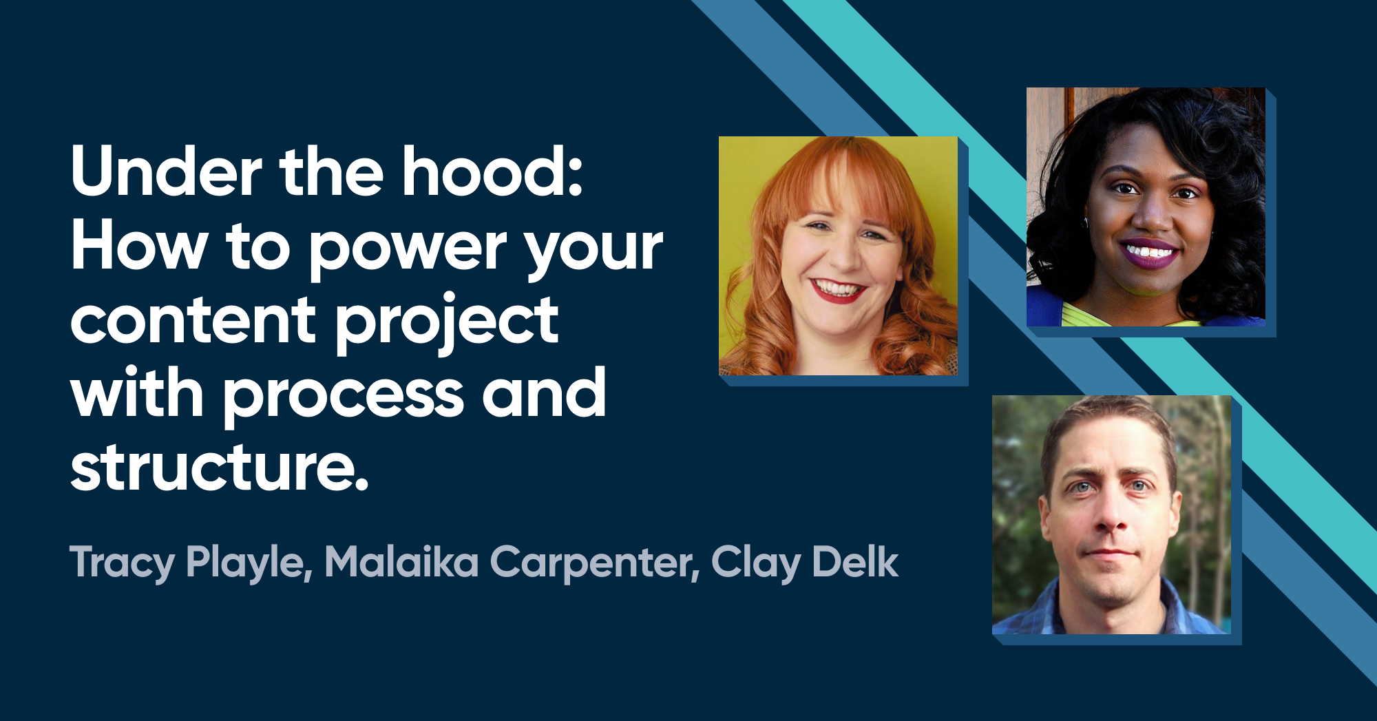 Under the hood: How to power your content project with process and structure