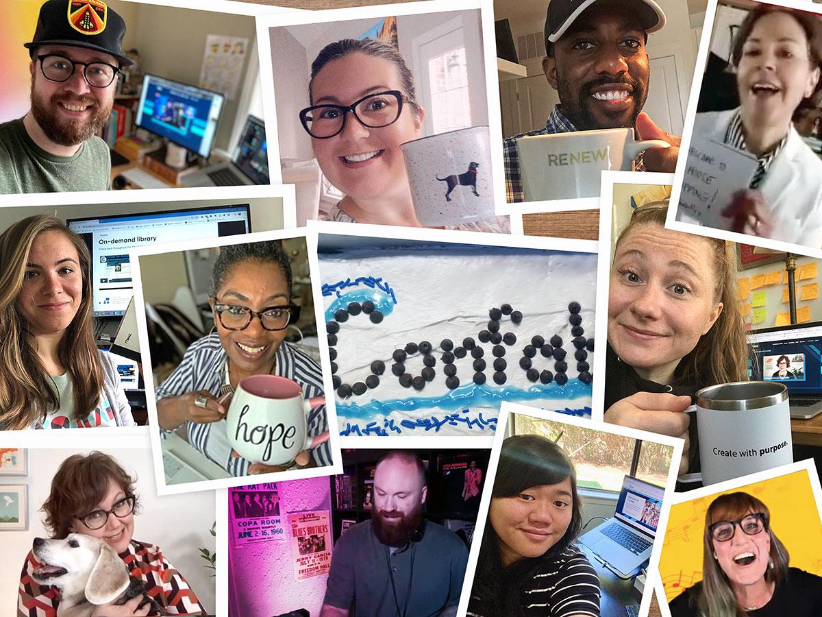 Photos of Confab speakers