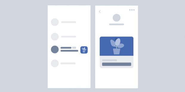 Facebook messenger ad photo size