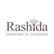 Rashida For Congress logo