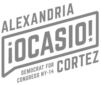 Alexandria Ocasio Cortez logo