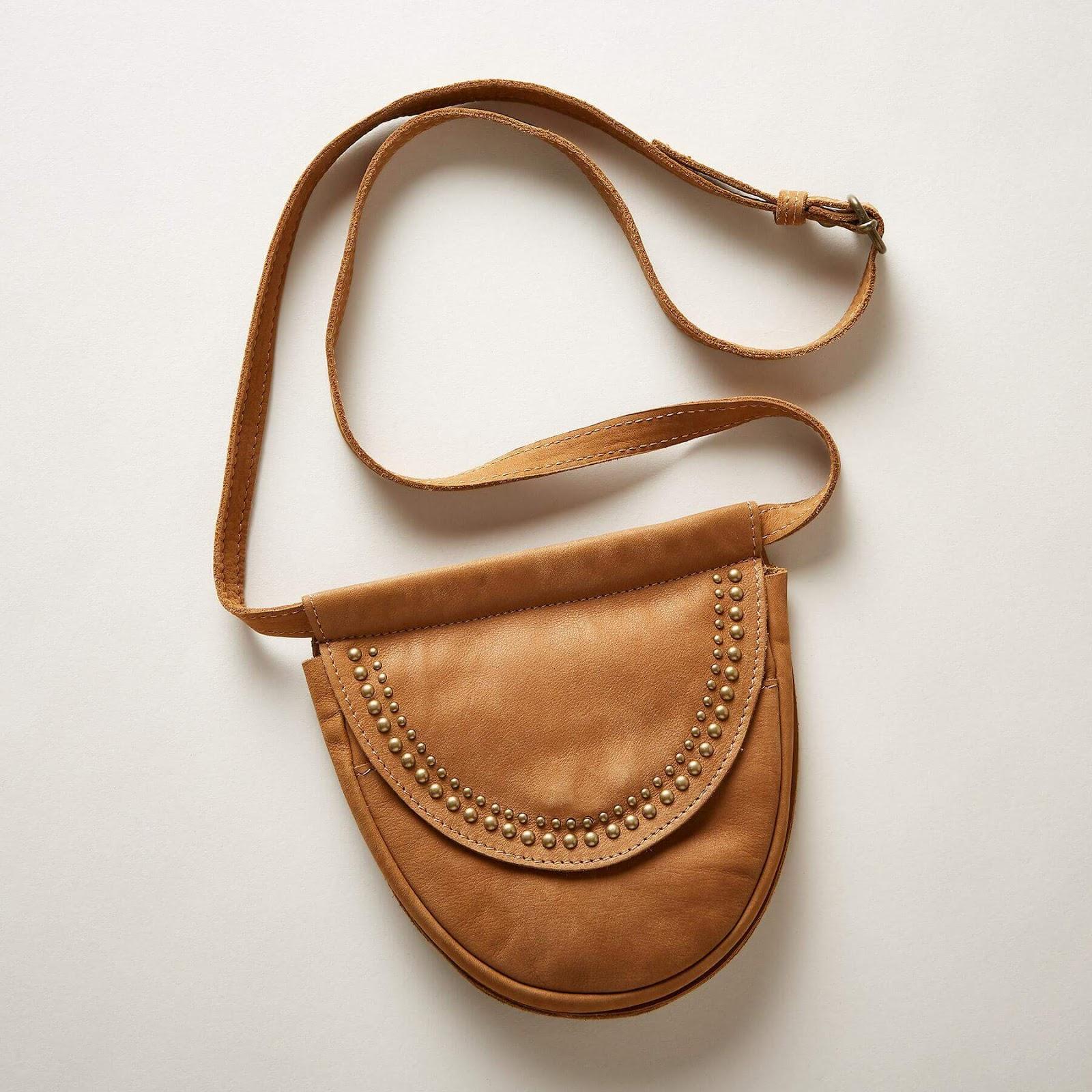 The Wandering Spirit Belt Bag - a nice leather hip bag.