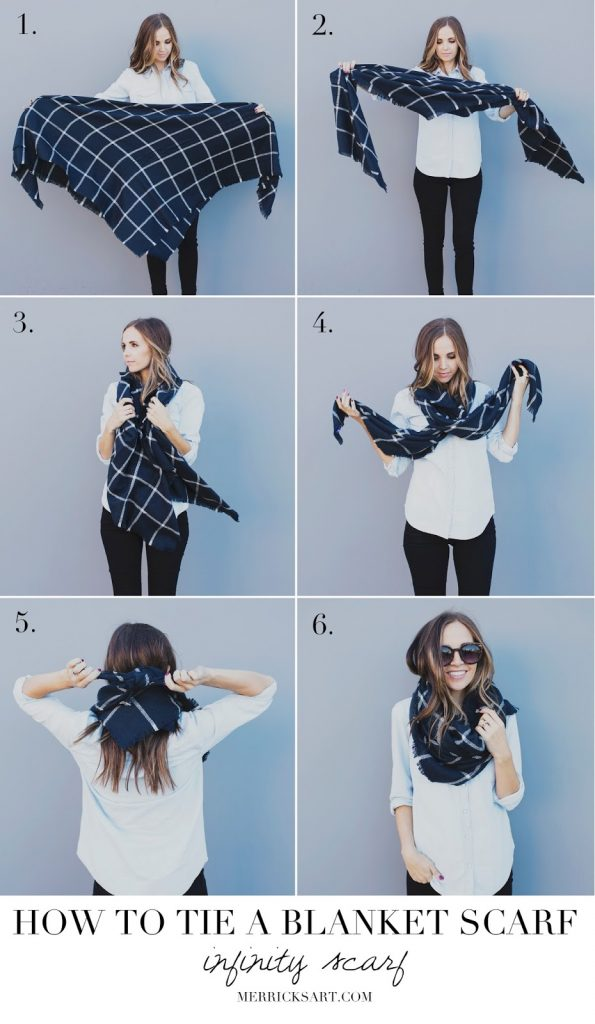 5 Ways To Wear A Blanket Scarf The Complete How To Guide
