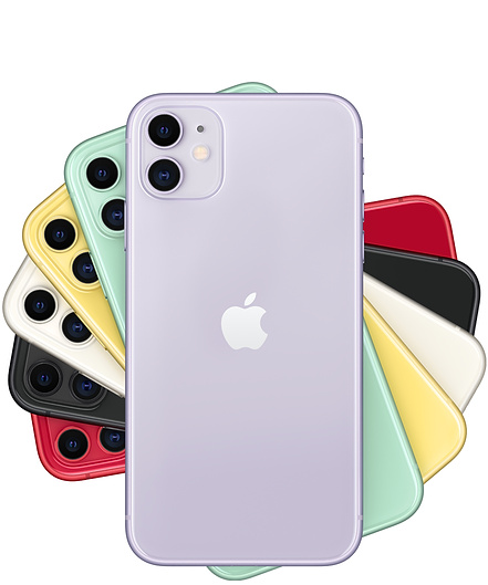 Colorful Apple iPhone 11s