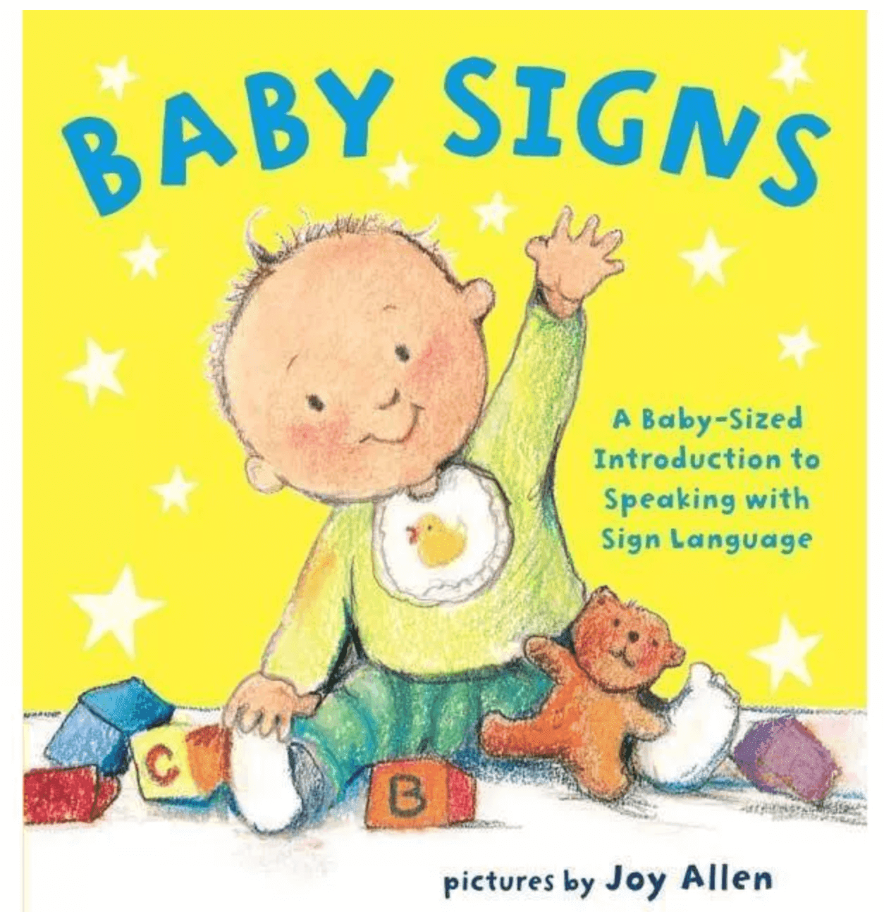 Baby signs book.