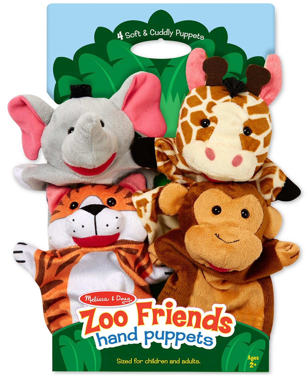 A set of hand puppets for toddlers.