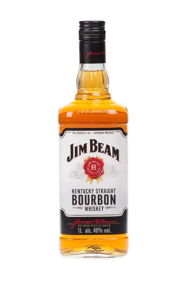 Jim Beam kentucky bourbon.