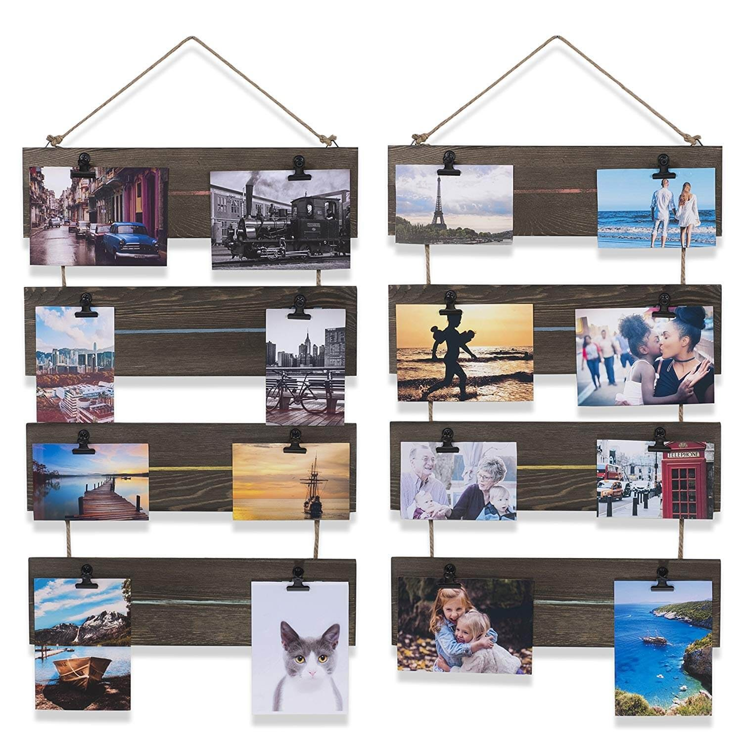 Brightmaison rustic, wooden clipboards
