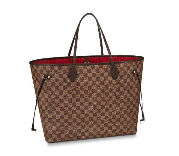 LV Neverfull bag.