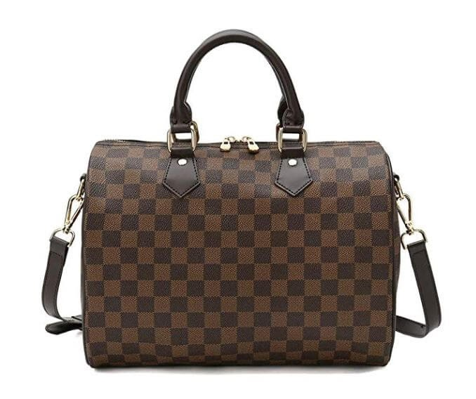 Lady's Moment Bucket Satchel Bag