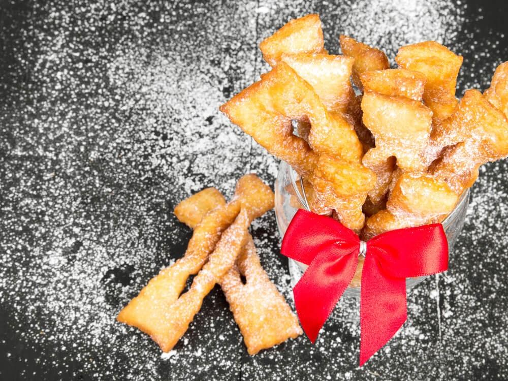 Chrusciki Cookies
