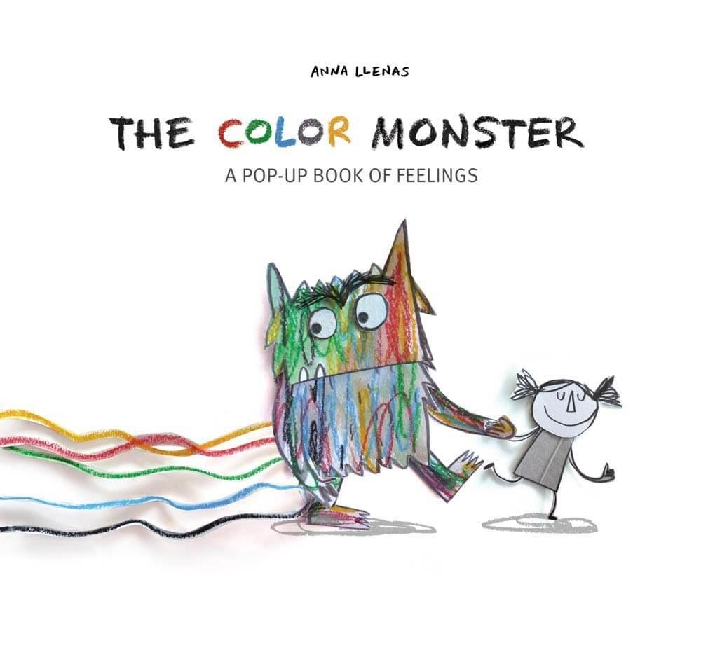 The Color Monster Pop-Up book