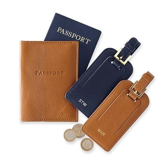 Mark & Graham Leather Passport Case