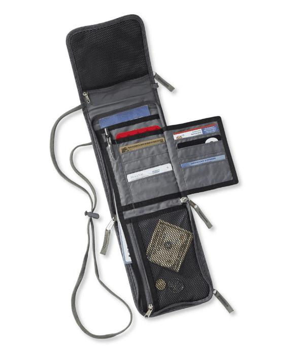 L.L. Bean RFID-Blocking Traveler Passport Organizer