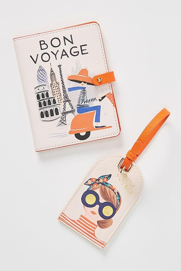 Rifle Paper Co. Bon Voyage Passport Holder