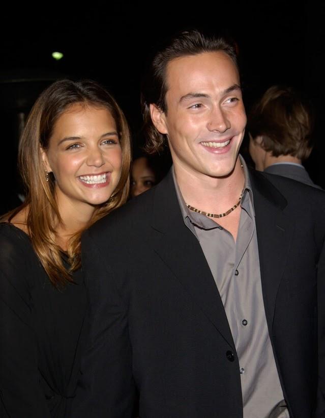 Chris Klein and Katie Holmes