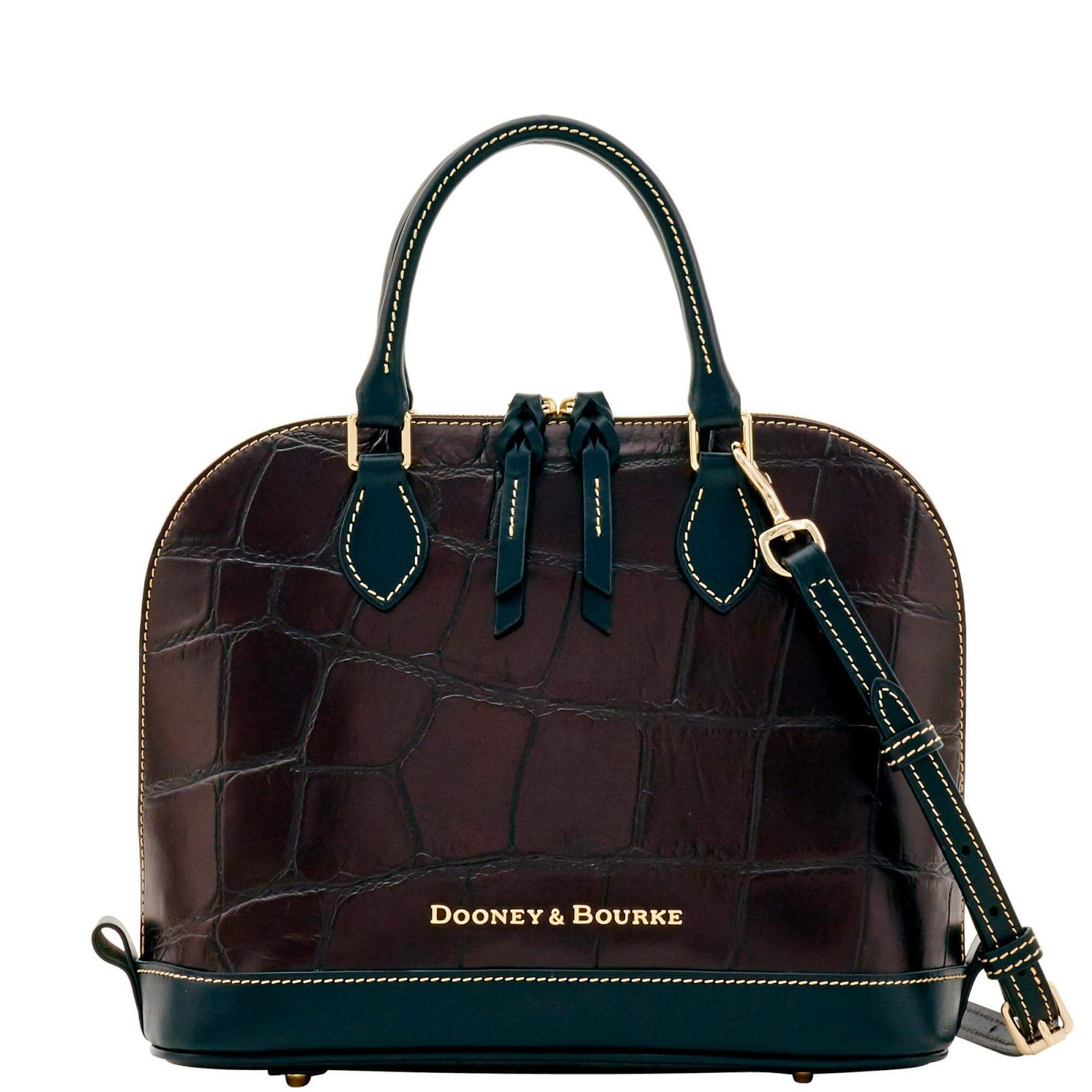 Dooney & Bourke Denison Zip Zip Satchel